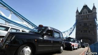 出租车抗议
