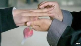 Casamento (arquivo/AFP)