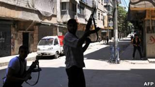 Phiến quân ở Aleppo