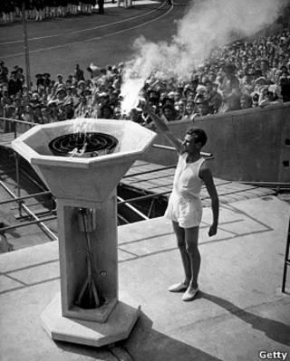 奧運開幕式點聖火