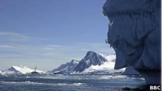 Foto de archivo de la Antártida