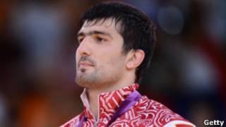 Обладатель олимпийской золотой медали Тагир Хайбулаев