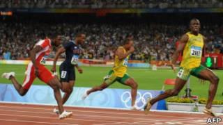 Final 100 metros
