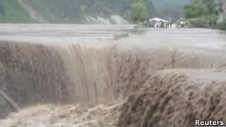 فيضانات في كوريا الشمالية