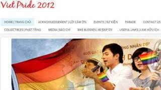 Hình chụp từ trang web Viet Pride