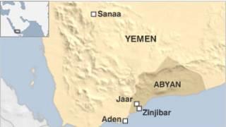 Bản đồ vùng Abyan