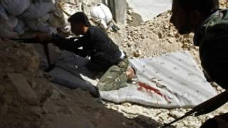 Abarwanya leta i Aleppo muri Syria