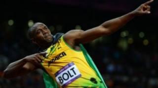 博尔特与队友引领了男子百米的牙买加时代