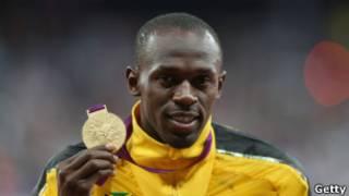 Usain Bolt en Londres 2012