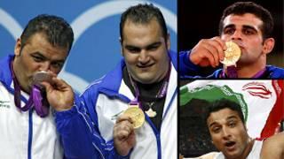 مدال آوران امروز ایران