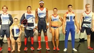英国奥运队的米字旗队服