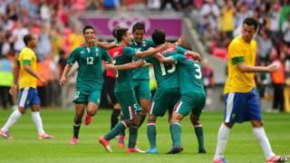 México e Brasil | Foto: AFP