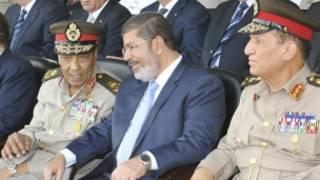 Shugaba Mursi da Field Marshal Tantawi