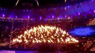奥运火炬解散分发