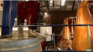 Destilería de whisky, Tullibardine, Perthshire