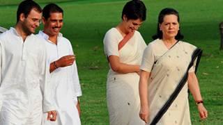 सोनिया गांधी का परिवार