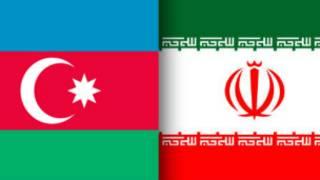 پرچم های ایران و جمهوری آذربایجان
