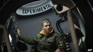Австрийский парашютист Феликс Баумгартнер
