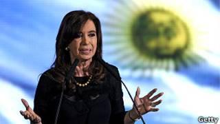 Presidenta de Argentina, Cristina Fernández