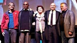 Los capitanes de Star Trek