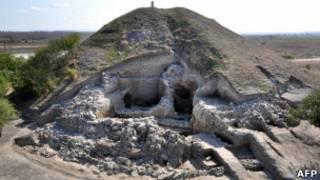 Древний город в Болгарии