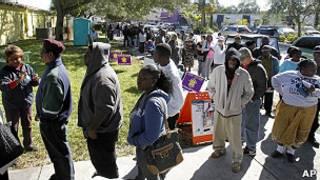 Votación anticipada en Florida