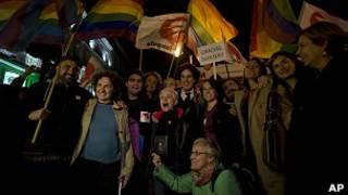 Celebración en Madrid