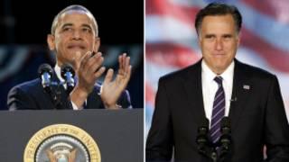 ओबामा-रोमनी