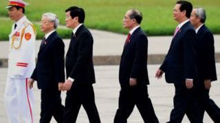 Các lãnh đạo chóp bu của Việt Nam