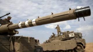 Des chars israéliens