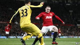 L'attaquant Wayne Rooney