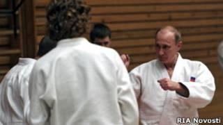 Путин на татами
