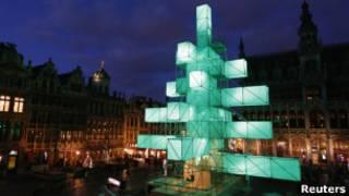Рождественская елка в Брюсселе