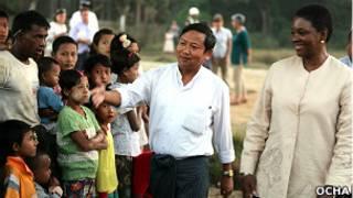 Valerie Amos in Rakhine