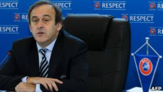 Президент УЕФА Мишель Платини хочет сэкономить в условиях финансового кризиса