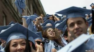 Graduados de la Universidad de Columbia