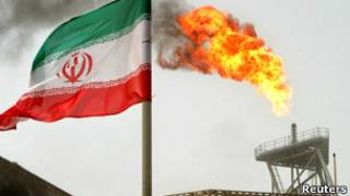 ईरान की तेल कमाई में गिरावट