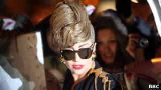 Леди Гага в Петербурге