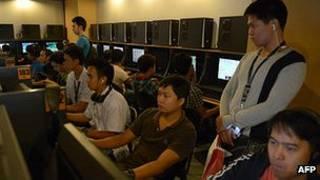 Cibercafé en Filipinas