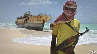 Un Somalia pirate