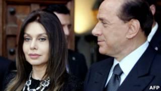 सिल्वियो बर्लुस्कोनी, वेरोनिका लॉरियो