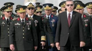 Perdana Menteri Turki, Recep Tayyip Erdogan.