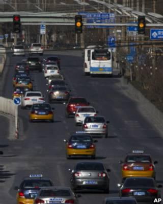 Avenida en China