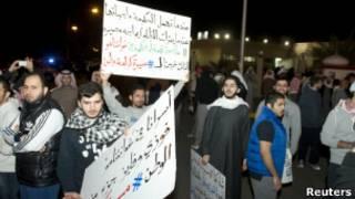احتجاجات في الكويت