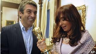 Cristina Fernandez, Ricardo Darin