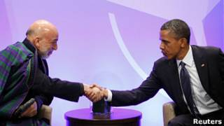Karzai, Obama