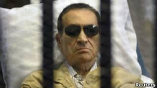 Бывший президент Мубарак