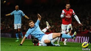 Manchester City na Arsenal