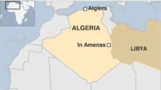 Peta In Amenas