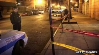 Crimen en Chicago.